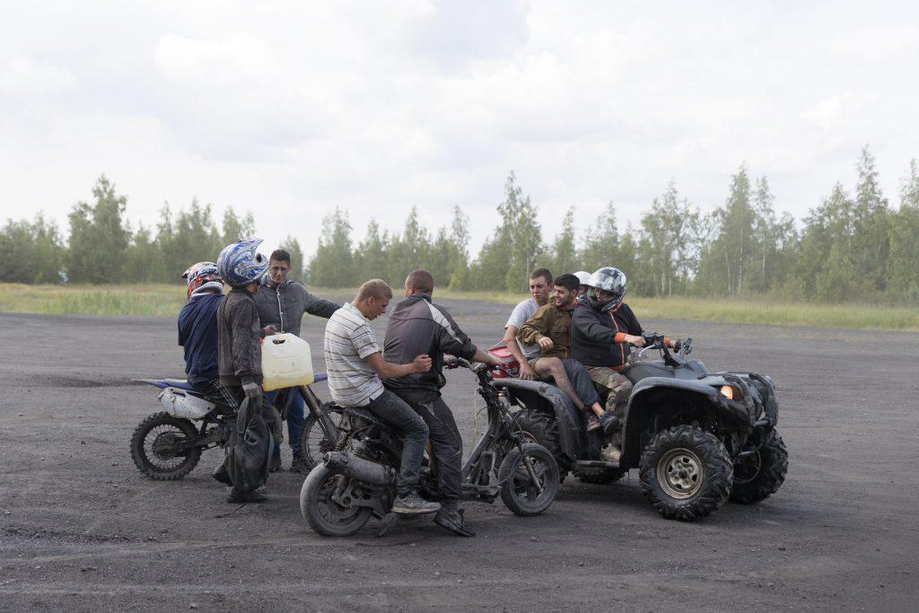 ATV on the Terril