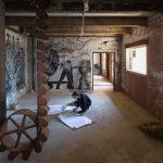 Buffalo, New York and Exhibiting The Telescope Houses